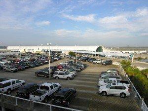 cars at airport