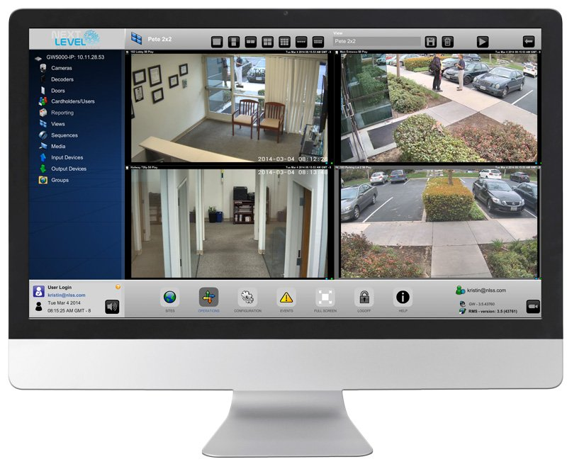 a report on ip video surveillance Newsday's report about the video surveillance system on new york's long island said it will eventually include thousands of cameras at shopping malls, hospitals parks, and beaches live footage will stream into a police communications center through a single, integrated network.